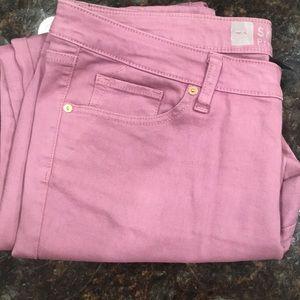 NWOT skinny premium denim purple jeans